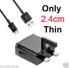 for HTC Wildfire Desire Micro UK 3 Pin Mains Charger UK