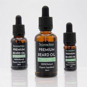 Pine & Eucalyptus Beard Oil  - Premium, Vegan, All Natural & Organic Beard Oil