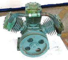 Curtis 10hp Es 100 Single Stage Pump Air Compressor Untested