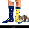 Odd Socks - Fun Business Quality Combed Cotton Spotty Socks 'SVEN'