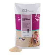 25 - 500kg Spielsand Quarzsand für Sandkiste Dekosand TOP Qualität DIN EN 71/3
