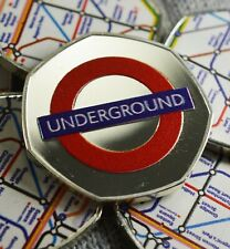 LONDON UNDERGROUND Silver Commemorative FULL COLOUR Album/Collectors. Limited