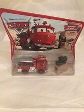 Disney Pixar Cars Red & Stanley fire engine Original Desert series first release