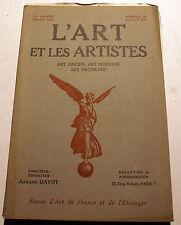 ART DECO/L'ART ET LES ARTISTES/1925/N°59/MANUFACTURE DE BEAUVAIS/ALFRED LOMBARD.