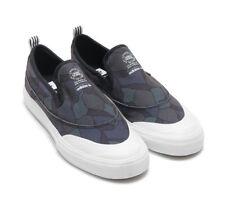dbb922b0decc63 NWOB Adidas Matchcourt Slip-On Skateboard Shoe Core Black White Men s Size  12