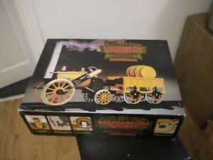 HORNBY live steam G100 STEPHENSON'S ROCKET MODEL boxed near mint 2