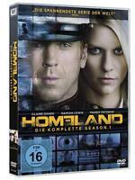 Homeland - Die komplette Season 1 [4 DVDs/NEU/OVP] Claire Danes