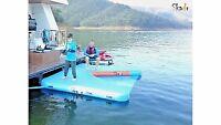 Inflatable Boat & Ski Dock, Floating Boat Dock, Houseboat, Pontoon, Fender