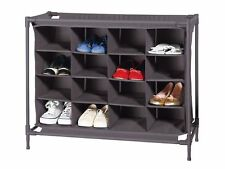 Schuhregal Schuhschrank Schuhständer bis zu 16 Paar erweiterbar auf 2 Regale