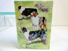 New Australian Shepherd Poker Playing Card Set of Cards by Ruth Maystead Aus-Pc