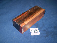 Makasssar Amaro Ebenholz Messergriffblock  feine Holzarbeiten  Nr. 579
