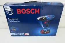 BOSCH PROFESSIONAL GSB 18V-21 NM HAMMER DRILL + 2 X BATTERIES + CHARGER + BAG