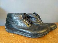 Doc Martens size 8 Declan Black 5 eye EU 42 Shoes Lace Up Cushion Sole Original