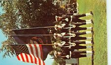 ANNAPOLIS, MARYLAND-THE COLOR GUARD OF THE BRIGADE OF MIDSHIPMEN-(MNA-30*)