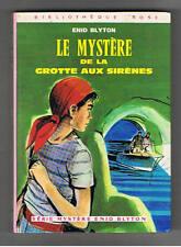 LE MYSTERE DE LA GROTTE AUX SIRENES  ENID BLYTON 1974