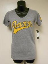 NEW Utah Jazz Womens M Medium Gray Adidas Shirt