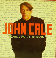 JOHN CALE-WORDS FOR THE DYING LP VINILO 1989 (GERMANY) EX-EX