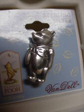 Classic Winnie The Pooh Sterling Silver Pin By Van Dell