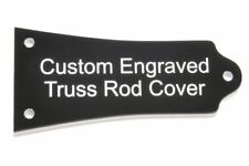 Custom engraved Truss Rod Cover fits many Epiphone® guitars