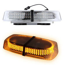Car 240 LED Amber Warning Strobe Light Recovery Beacon Magnetic Emergency Bar