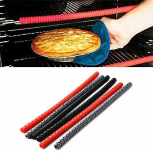 1/2Pcs Oven Shelf Guard Protector Silicone Oven Rack Heat Resistant Avoid Burns