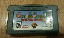 SUPER MARIO WORLD (Super Mario Advance 2) Nintendo Game Boy Advance & DS