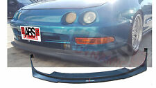 1994 95 96 1997 Acura Integra HC1 Style Front Lip Unpainted Black ABS Plastic