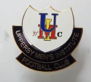 Upperby Mens institute Football Club Enamel Badge Non League Football Club