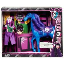 MONSTER HIGH Headless Headmistress Bloodgood Doll with Horse Nightmare NEW