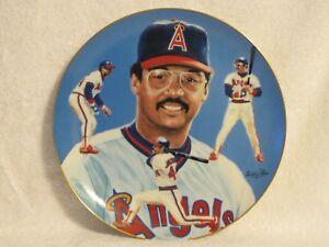 "Hackett American Collector Plate Reggie Jackson ""Mr. October"" 1983"