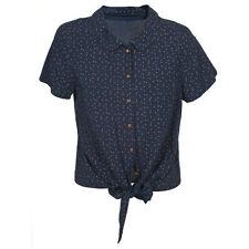 Viscose Short Sleeve Women's Blouses