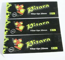 150 Paper RYO Filter Tips - 3 Pack packs of 50
