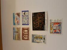timbres France 3018 3019 3020 3021 3022 3023/24 année 1996 cote 12,45€ VF 4,11€