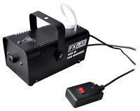 FX LAB FXLAB COMPACT 400W MINI FOG SMOKE MACHINE WITH REMOTE CONTROL