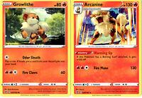 Rebel Clash - Pokemon Evolution Card Set Arcanine 028/192 - Sword Shield Rare