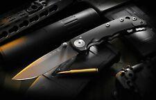 Spartan Blades Knife Harsey Folder S35VN Frame Lock Black PVD Authorized Dealer