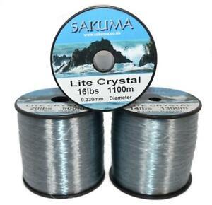 Sakuma Dark Crystal Tournament Sea Fishing Line,Tackle,Sea Fishing (GREY)