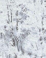 Benartex Frost by Kanvas 5677G 11 Silver Winter Trees Cotton Fabric FREE US SHIP