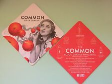 Beer Coaster ~ COMMON Cider Co ~ Auburn, CALIFORNIA ~ Pretty Lady Blows Oranges