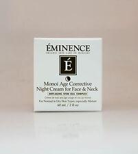 Eminence Monoi Age Corrective Night Cream for Face and Neck 60ml 2oz**NEW&FRESH*