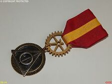 Deathly hallows Steampunk brooch badge Medal pin drape Harry Potter Gryffindor