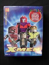 Marvel Minimates - X-men 4-pack w/ Darktide DVD Movie Included - NIB