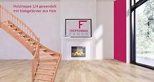 Preisknaller Holztreppe Eiche, Treppe, Raumspartreppe, Treppen, Maßtreppe