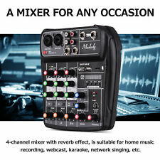 More details for compact mixing console digital audio mixer 4 channels for music recording l7r2