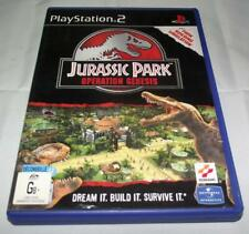 Jurassic Park Operation Genesis PS2 PAL *Complete*