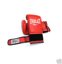 Everlast Original Red MMA Boxing Training Sports Gloves Gym Fitness Cardio