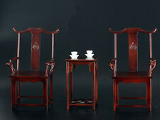 Custom 1/6 Scale Chinese Style Chair and Table Set For Hot Toys Enterbay Ip Man