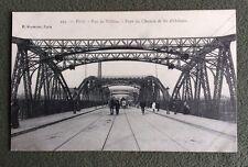 CPA. PARIS. 75 - Rue de Tolbiac. Pont du Chemin de Fer d'Orléans.