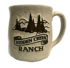 Onion River Pottery Hidden Creek Ranch Speckled Stoneware Coffee Cup Mug