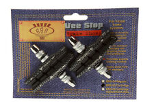 BBB Vee Stop Brake Shoes Pads Shimano V-Brake Cartridge Faux-Carbon BBS-05 NEW